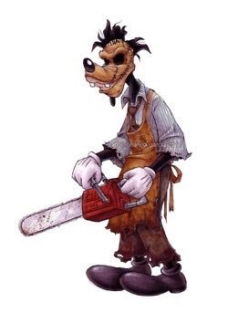 Goofy Leatherface