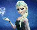 Goth Elsa  - frozen wallpaper