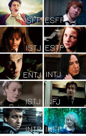 HP MBTI Personality Types (Part 1)