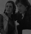 Han and Leia - leia-and-han-solo fan art