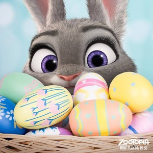 Happy Easter - From Judy Hopps