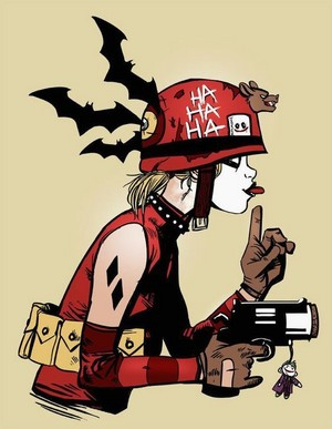 Harley Quinn as Tank Girl