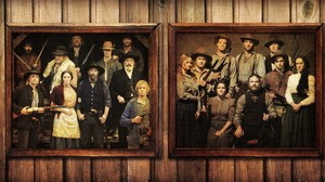 Hatfield and McCoy Family Portraits