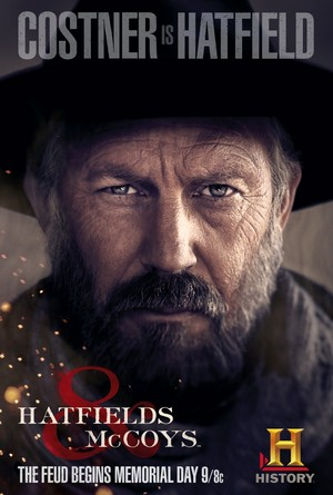 Hatfields and McCoys Poster: 'Devil' Anse Hatfield