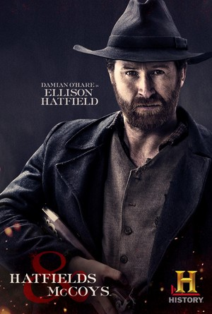 Hatfields and McCoys Poster: Ellison Hatfield