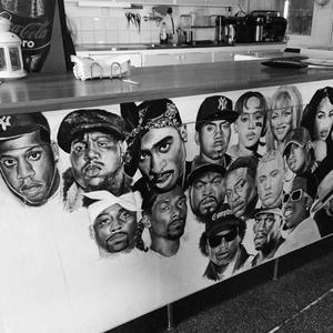 Hip-Hop Mural