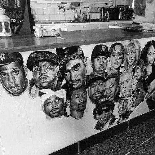 Rap and Hip-Hop wallpaper titled Hip-Hop Mural