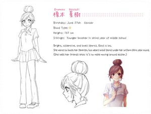HoneyWorks Character diseño 'n' Info