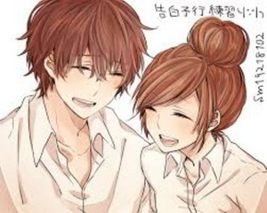 Honeyworks--- Fanart-----YUU and Natchan