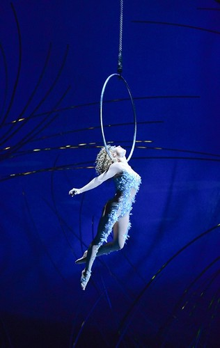 Cirque du Soleil Обои titled Hoop act