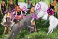 Hot Sexy Witches had captured and tamed Beautiful White Unicorns - unicorns fan art