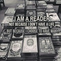 I AM A READER - books-to-read photo