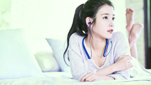 iu wallpaper probably containing a portrait titled iu Sony wallpapers por IUmushimushi 1920x1080