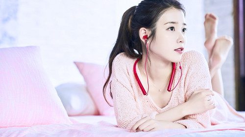 IU wallpaper containing a portrait titled IU Sony Wallpapers by IUmushimushi 1920x1080