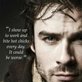 Ian Somerhalder quote - the-vampire-diaries photo