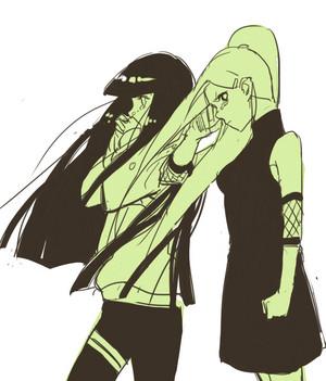 Ino and Hinata // 火影忍者
