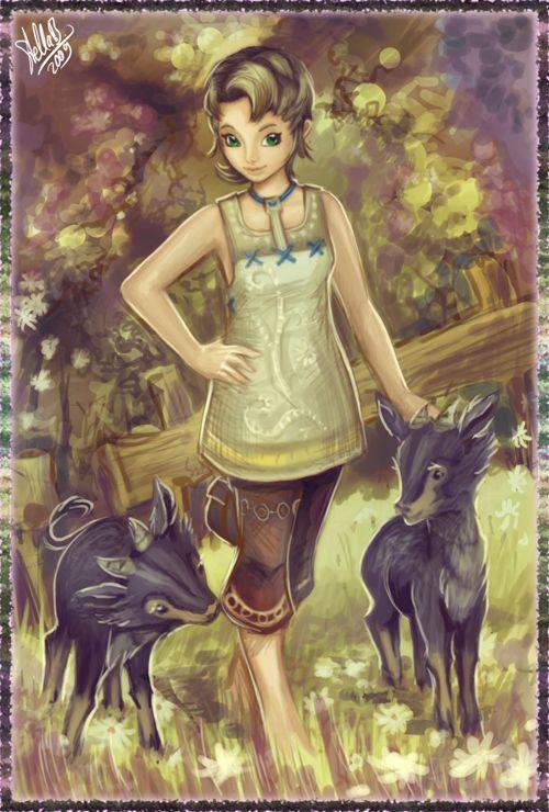 Iria From The Legend Of Zelda Twilight Princess Legend Of
