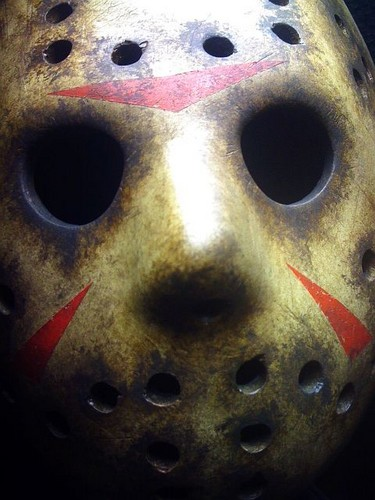 Horror Movies Wallpaper Entitled JASON VOORHEES MASK