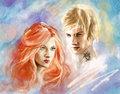 Jace/Clary Fanart - jace-and-clary fan art