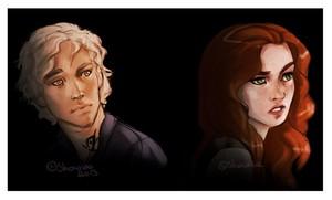 Jace/Clary Fanart