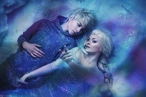Jack and Elsa Cosplay
