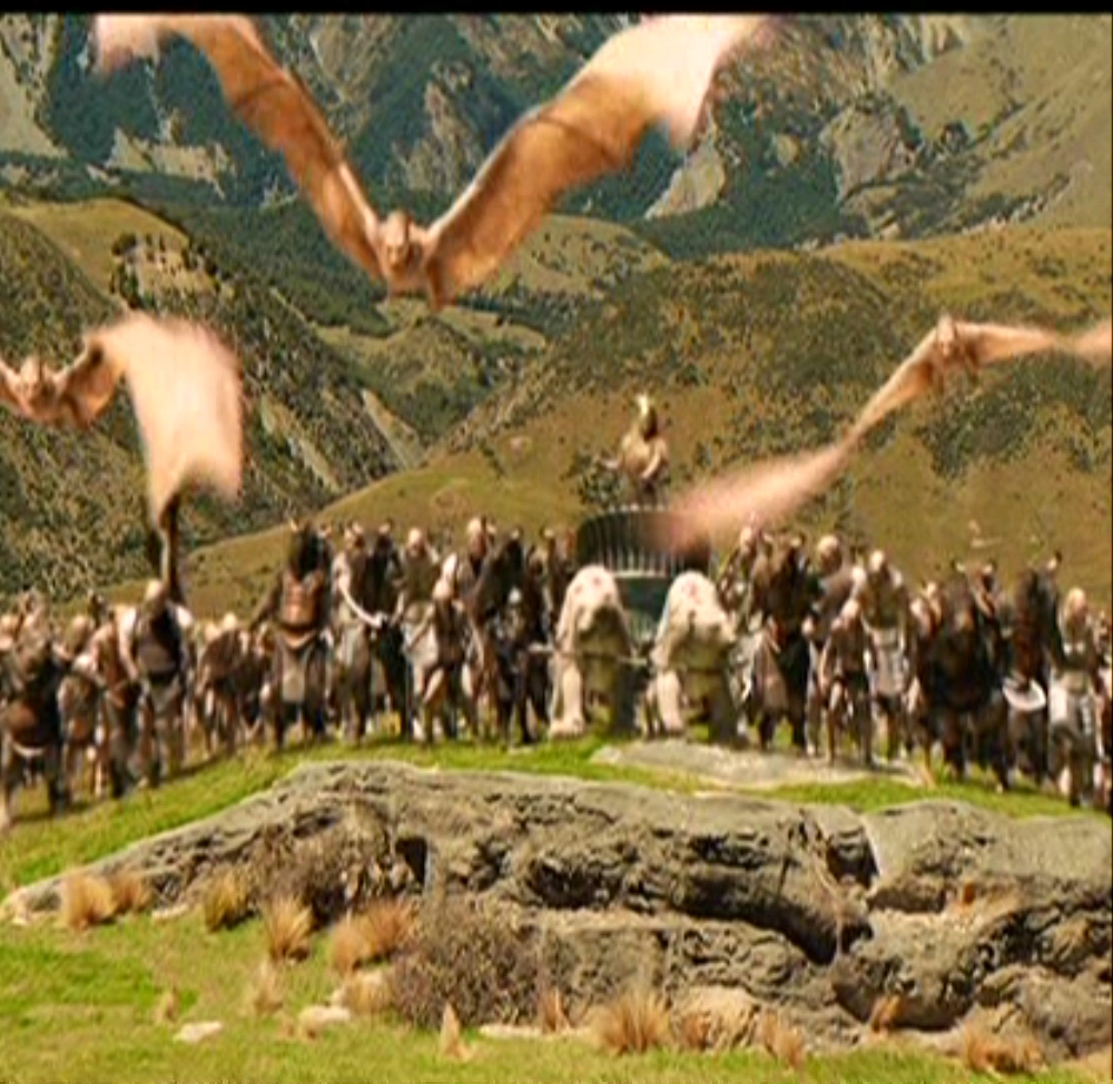 The Telmarines Vs. The Army Of Jadis The White Witch