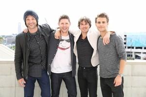 Jared Padalecki, Jensen Ackles, Ian Somerhalder, Paul Wesley