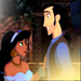 Jasmine and Tulio - disney-crossover icon