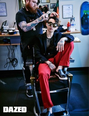 ghiandaia, jay Park for 'Dazed and Confused'