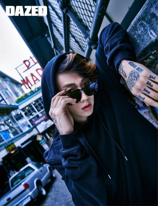 Jay Park for 'Dazed and Confused'