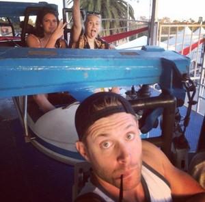 Jensen Ackles selfie