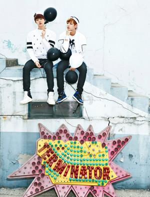 Jin and Taehyung