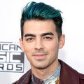 Joe Jonas Blue Hair