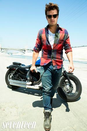 Josh Hutcherson shoot