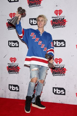 Justin Bieber ,iHeartRadio música Awards , 2016