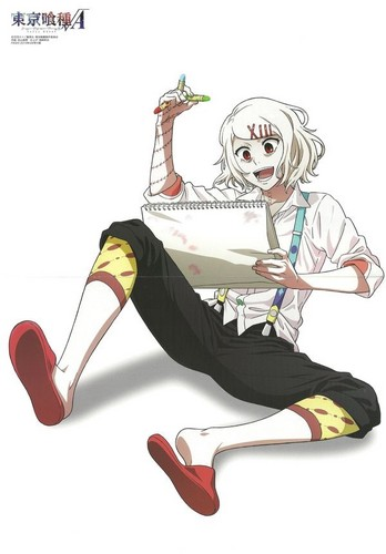 Tokyo Ghoul wolpeyper probably with a hip boot called Juuzou Suzuya