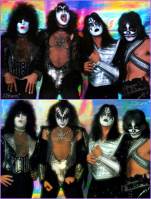 চুম্বন (NYC) June 1, 1977 (Mylar session)