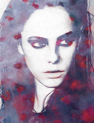 Kaya Scodelario fan Art