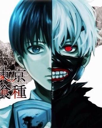 Tokyo Ghoul karatasi la kupamba ukuta titled Ken Kaneki