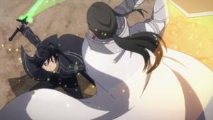 Kirito VS Kuradeel