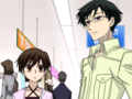 Kyoya and Haruhi - ouran-high-school-host-club photo