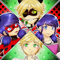 Ladybug and Chat Noir - Marinette and Adrien