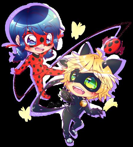 Miraculous Ladybug Hintergrund probably with Anime entitled Ladybug and Chat Noir