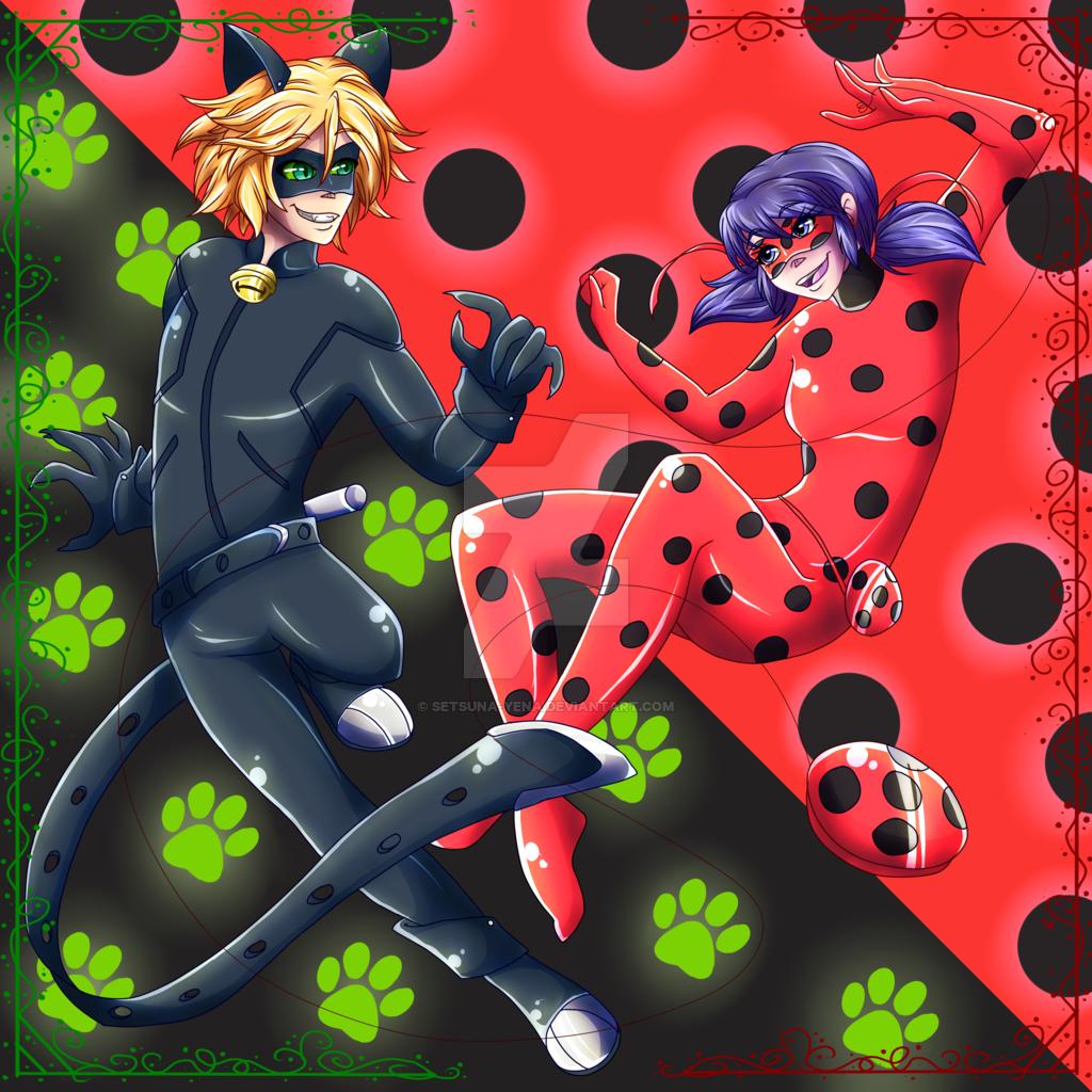 Miraculous Ladybug Bilder Ladybug And Chat Noir Hd Hintergrund And