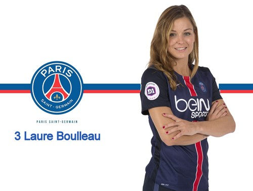 Soccer wallpaper entitled Laure Boulleau (my PSG fan art wallpaper)