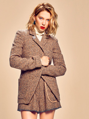 Lea Seydoux - Elle Japan Photoshoot - 2015