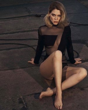 Lea Seydoux - GQ Australia Photoshoot - 2015