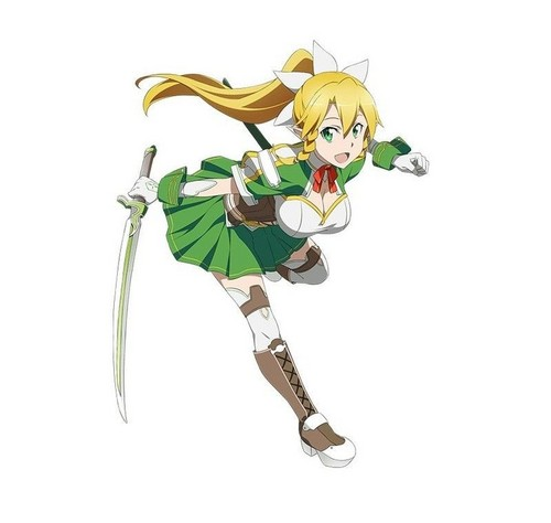 Sword Art Online wallpaper entitled Leafa