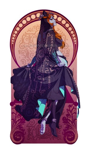 Legend of Zelda Midna door messa on deviantART