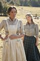 Levicy Hatfield and Roseanna McCoy